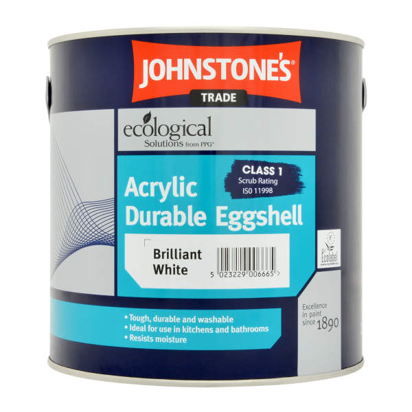 Acrylic Eggshell Brilliant White