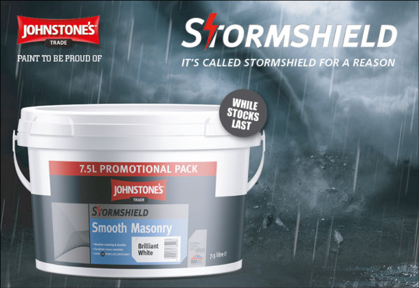 Johnstone's Stormshield Smooth Masonry