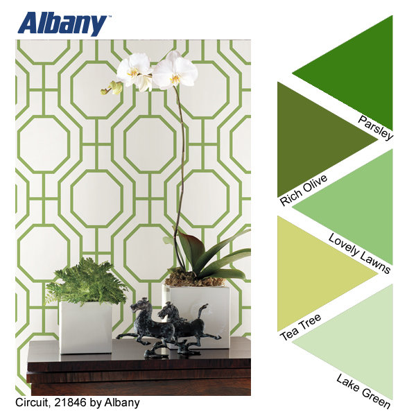 Albany Paint Green Palette