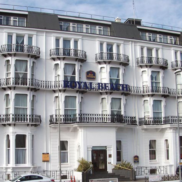 The Royal Beach Hotel in Southsea was transformed with Brewers Decorator Centres