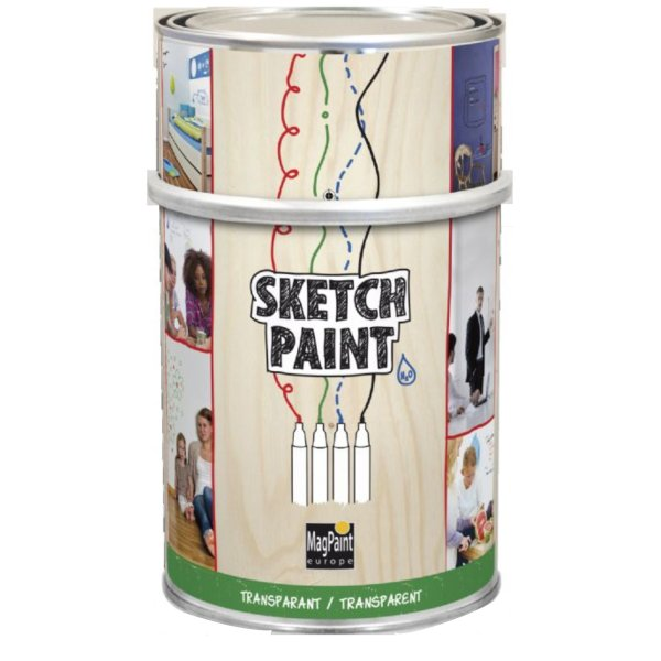 Sketch Paint Gloss Transparent