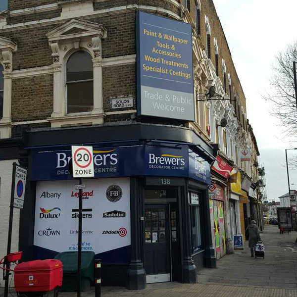 Brewers Decorator Centre Brixton