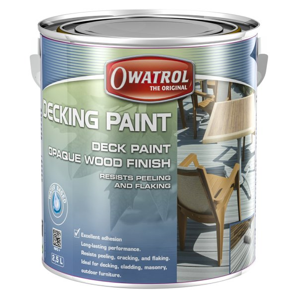 Decking Paint White