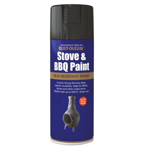 Stove & BBQ Paint Matt Black