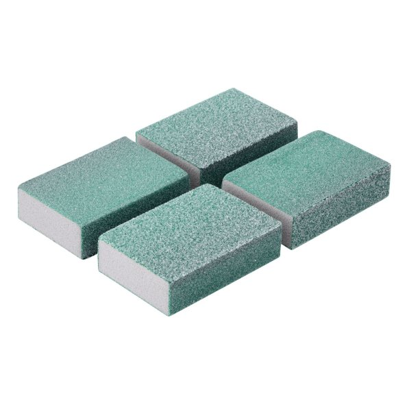 Flexible Sanding Sponges Medium/Coarse Pack of 4