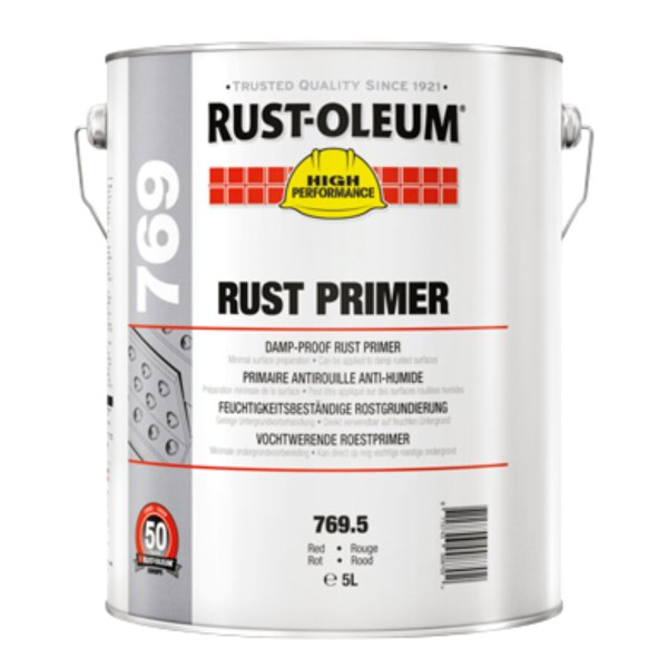 769 Damp-Proof Primer Red