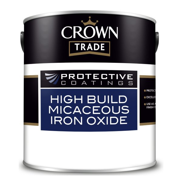 Protective Coatings High Build Micaceous Iron Oxide Grey