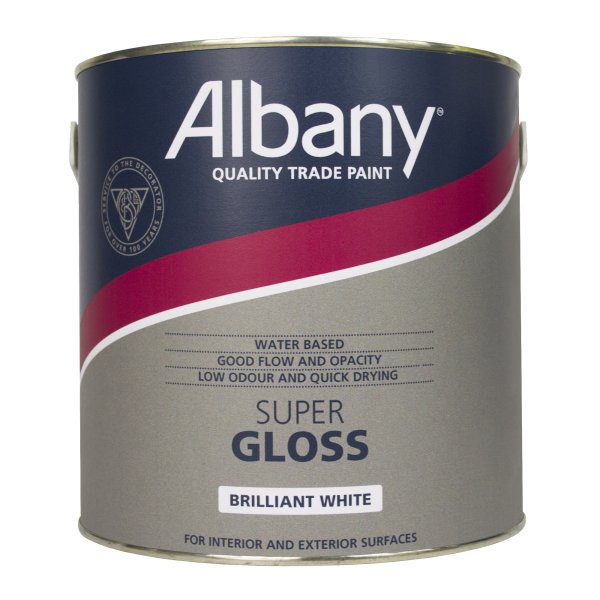 Super Gloss Brilliant White