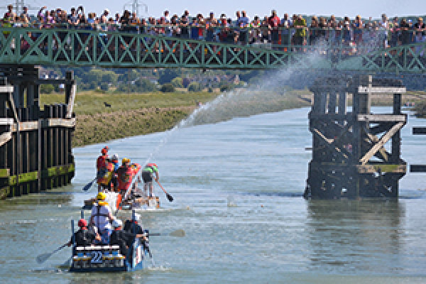 Lewes to Newhaven Raft Race 2017