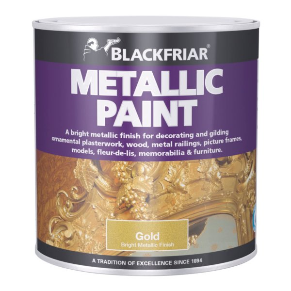 Blackfriar Metallic Paint Gold 500ml