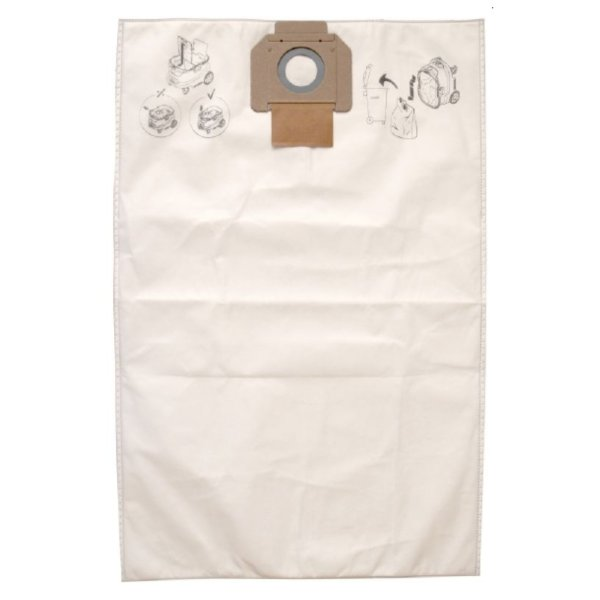 Fleece Dustbags For 1230 Dust Extractor Pack Of 5