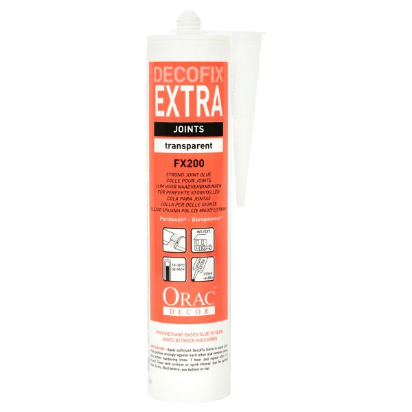 Decofix Extra Adhesive Transparent