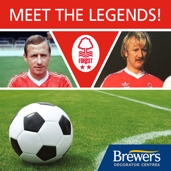 Meet John McGovern and Kenny Burns at Nottingham opening