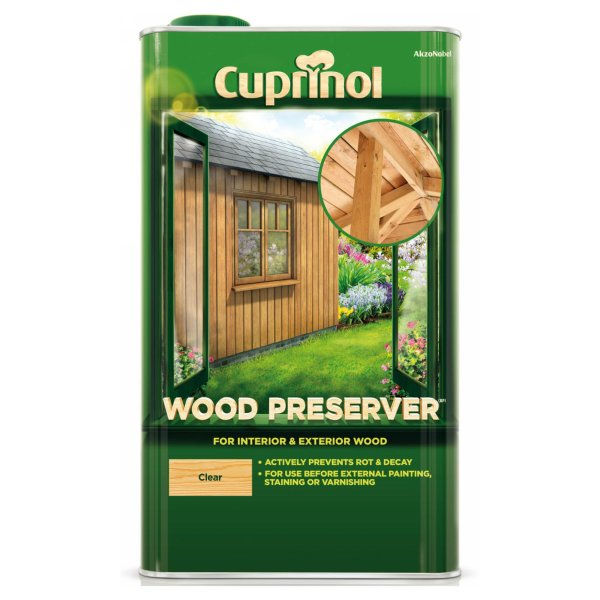 Exterior Wood Preservative Matt Clear