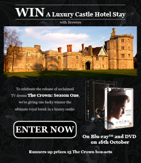 Win a luxury castle hotel stay with Brewers