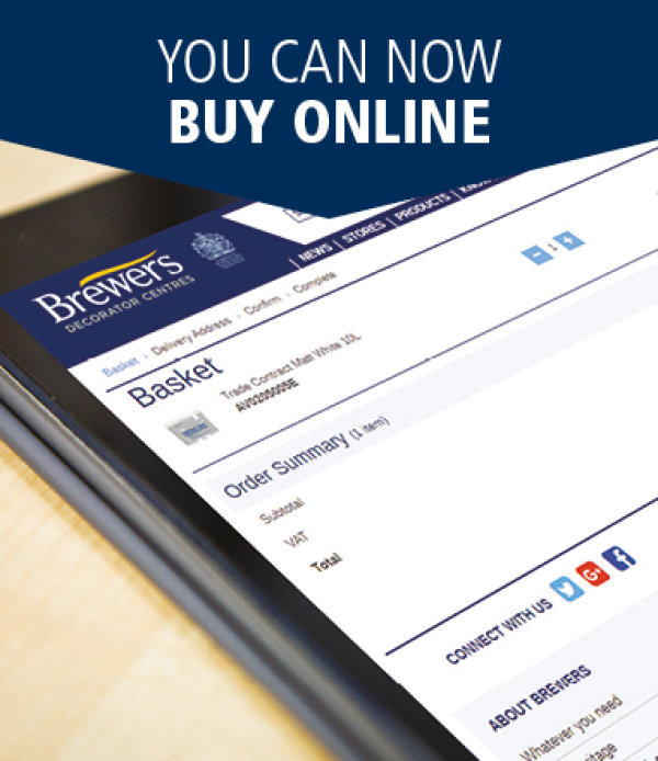 You can now buy online with a Brewers account