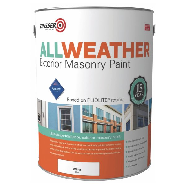 All Weather Exterior Masonry White