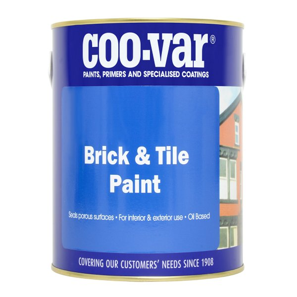Brick & Tile Oil Based Matt Red