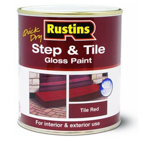 Quick Dry Step Tile Paint Red