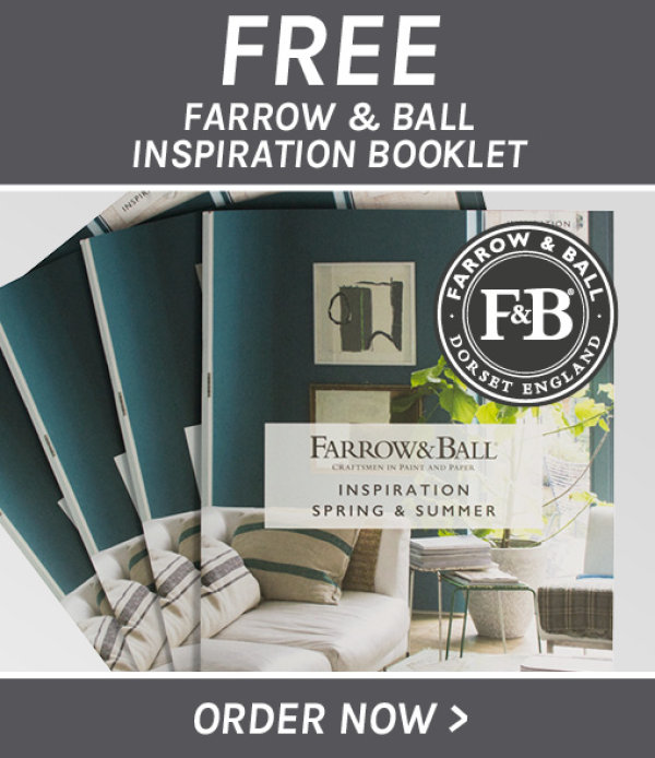 Claim your free Farrow & Ball Inspiration Booklet