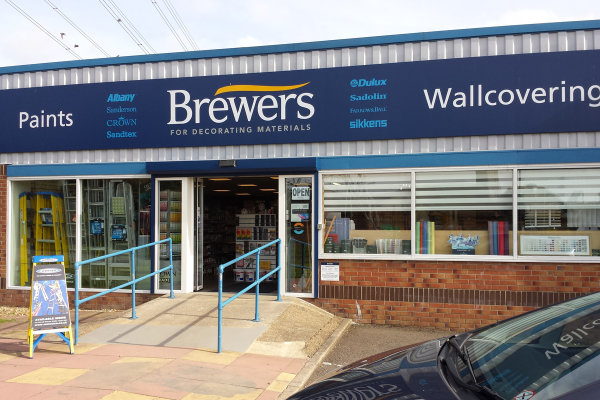 Brewers Corby store