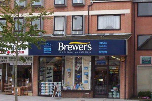 Brewers New Milton store