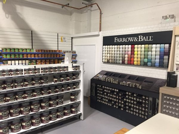Farrow and Ball available at Brewers Hull
