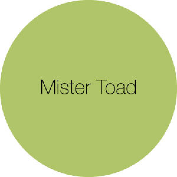 Earthborn's Colour of the Month Mister Toad