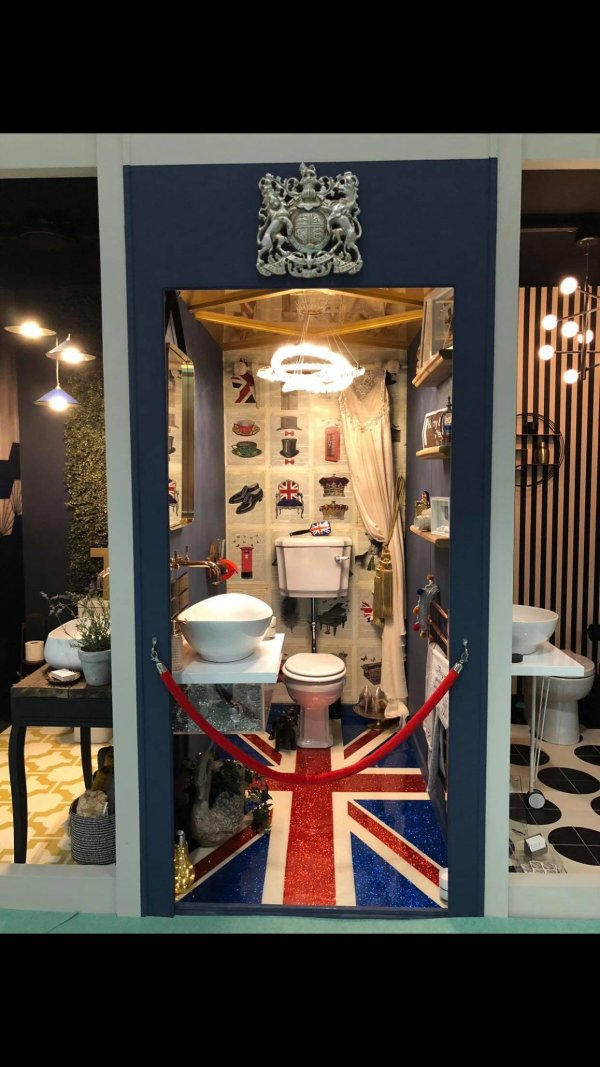 Helen Crouch - Lavatory Project at Grand Designs Live 2018
