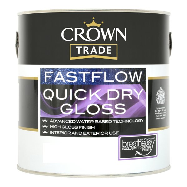Fastflow Quick Dry Gloss Black