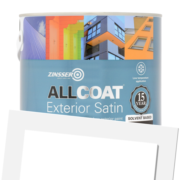 AllCoat Exterior Satin Solvent-Based