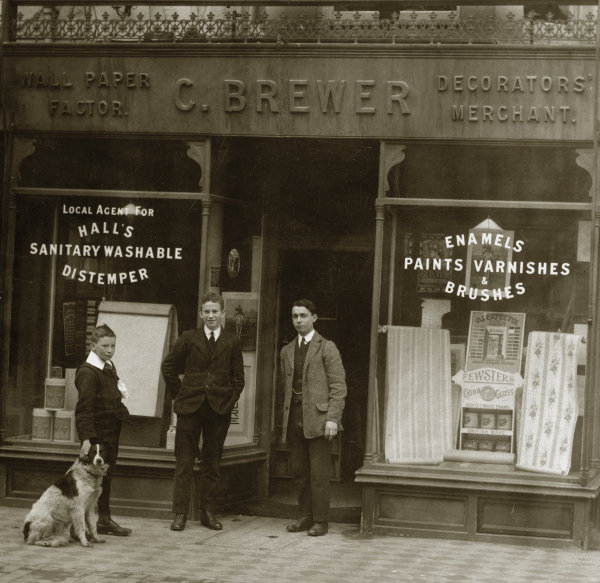 Brewers Decorator Centres in the 1900's
