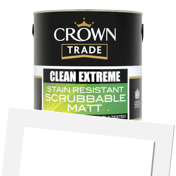 Clean Extreme Scrubbable Matt Colour