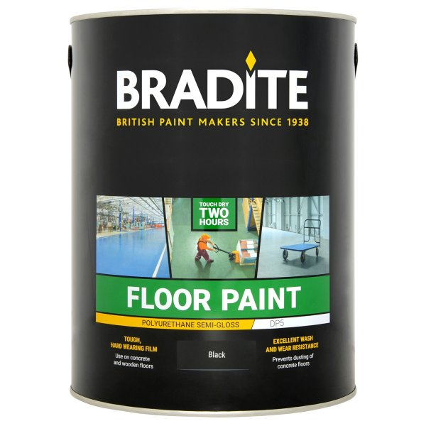 DP5 Floor Paint Black