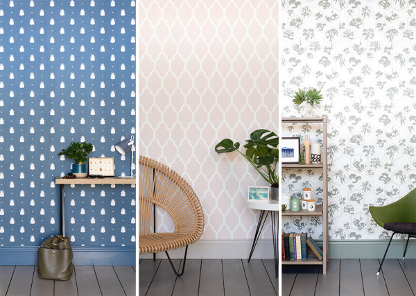 A Brewers exclusive trio of Farrow & Ball wallpapers to celebrate 20 years of partnership