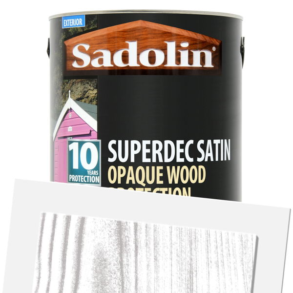 Superdec Opaque Wood Protection Satin (Tinted)