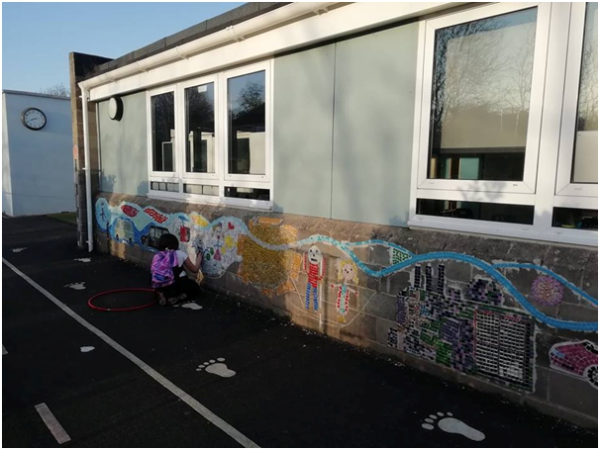 Clarendon Primary Centre mosaic