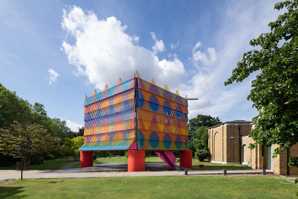 The Colour Palace at the Dulwich Picture Gallery | bespoke Mylands colour palette