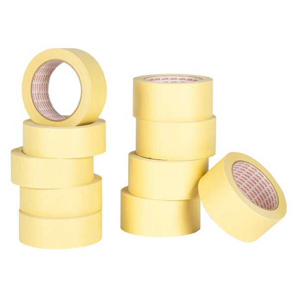 5 X Nopi General Purpose Masking Tape 38mm x 45m & 5 X Nopi 50mm x 45m